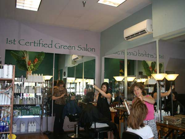 1st Certified Green Salon